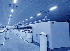 illuminazione led settore industriale