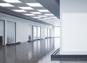 Illuminazione led grandi uffici professional led